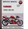 Thumbnail Yamaha FZR400 1986-1994 Factory Service Repair Manual Download Pdf