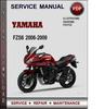 Thumbnail Yamaha FZS6 2006-2009 Factory Service Repair Manual Download Pdf