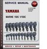 Thumbnail Yamaha Marine 150C V150C Factory Service Repair Manual Download PDF