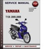 Thumbnail Yamaha T135 2005-2009 Factory Service Repair Manual Download PDF