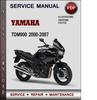 Yamaha TDM900 2000-2007 Factory Service Repair Manual Download PDF