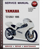 Thumbnail Yamaha TZ125G1 1995 Factory Service Repair Manual Download PDF