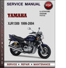 Thumbnail Yamaha XJR1300 1999-2004 Factory Service Repair Manual Download PDF