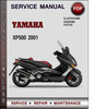 Thumbnail Yamaha XP500 2001 Factory Service Repair Manual Download PDF