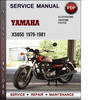 Thumbnail Yamaha XS650 1979-1981 Factory Service Repair Manual Download PDF