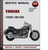 Thumbnail Yamaha XVS650 1996-2000 Factory Service Repair Manual Download PDF