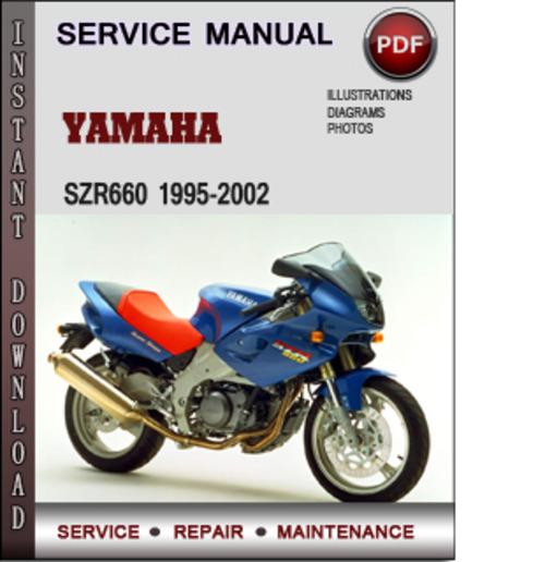 Product picture Yamaha SZR660 1995-2002 Factory Service Repair Manual Download PDF