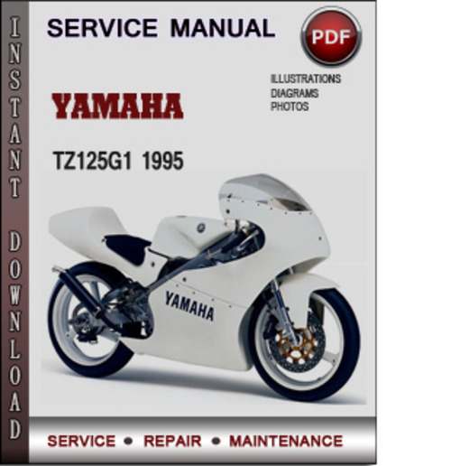 Product picture Yamaha TZ125G1 1995 Factory Service Repair Manual Download PDF