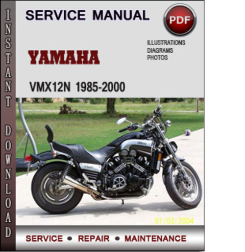 Product picture Yamaha VMX12N 1985-2000 Factory Service Repair Manual Download PDF