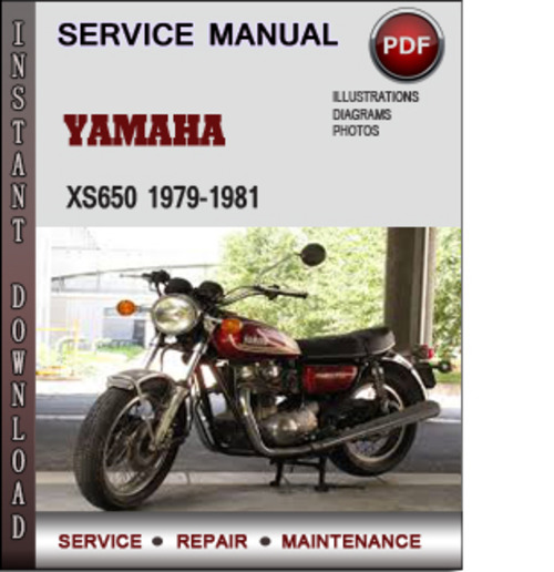 Product picture Yamaha XS650 1979-1981 Factory Service Repair Manual Download PDF