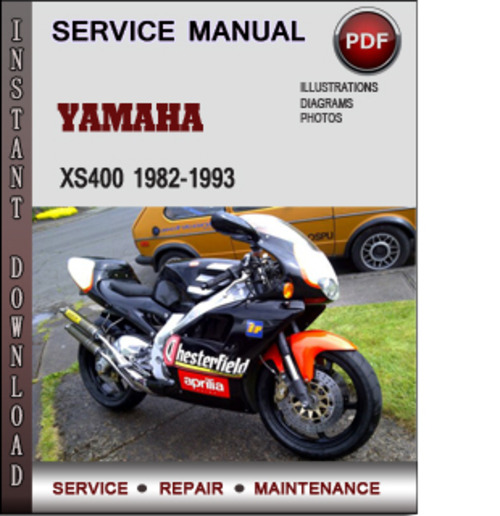 Product picture Yamaha XS400 1982-1993 Factory Service Repair Manual Download PDF