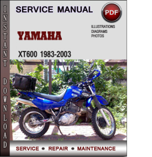 Product picture Yamaha XT600 1983-2003 Factory Service Repair Manual Download PDF