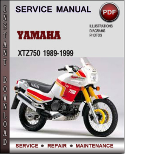 Product picture Yamaha XTZ750 1989-1999 Factory Service Repair Manual Download PDF