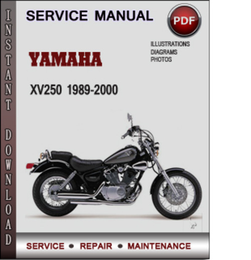 Product picture Yamaha XV250 1989-2000 Factory Service Repair Manual Download PDF