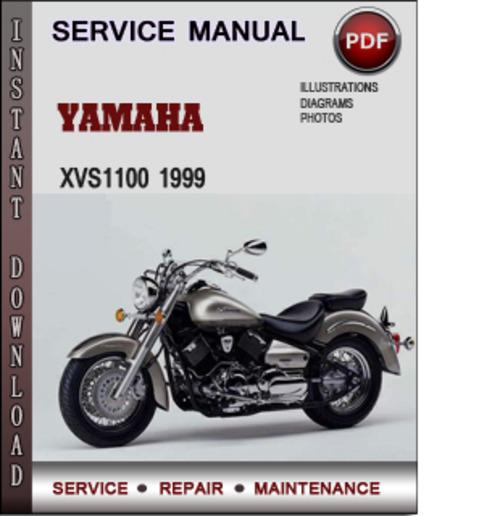 Product picture Yamaha XVS1100 1999 Factory Service Repair Manual Download PDF